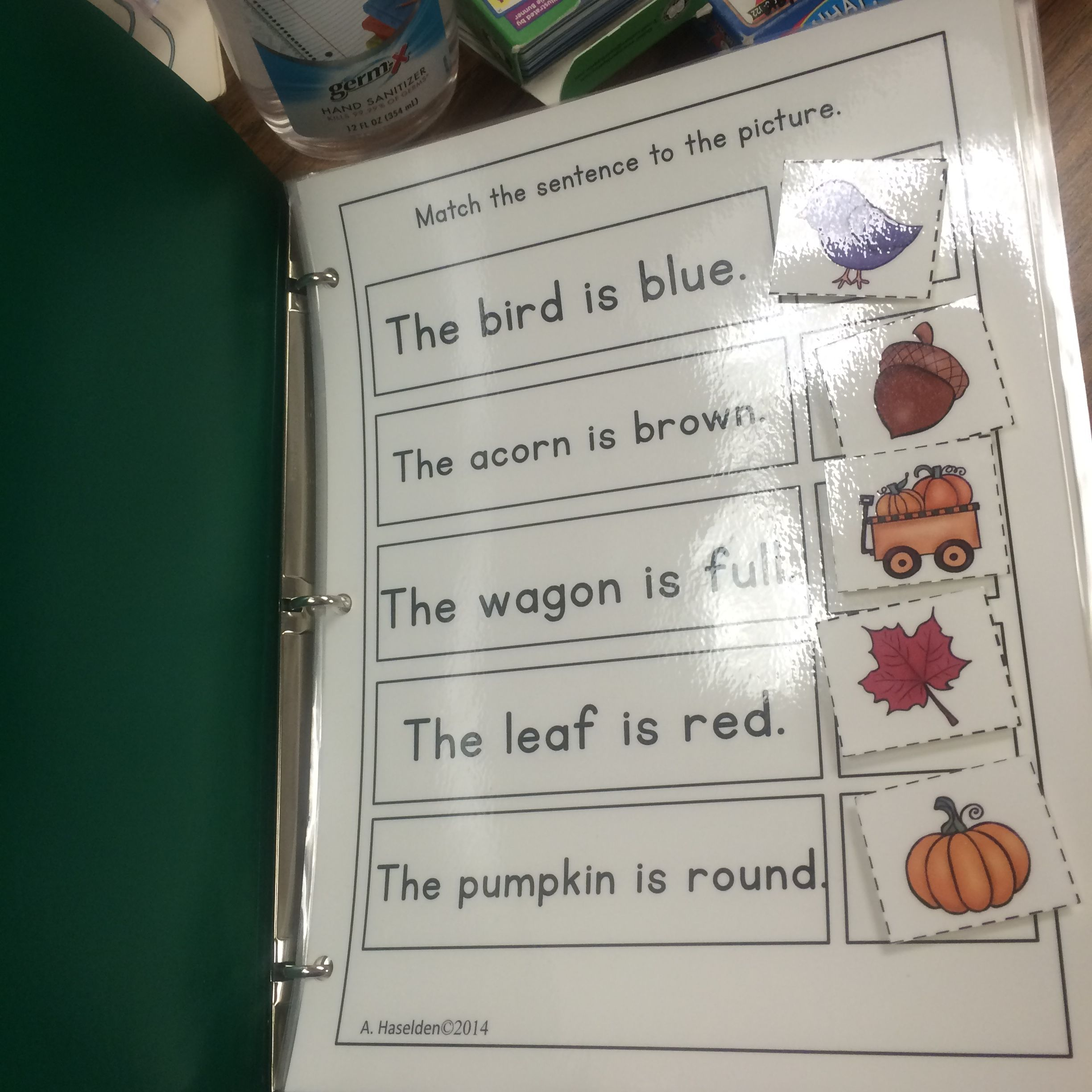 Matching Sentences To Pictures Early Comprehension