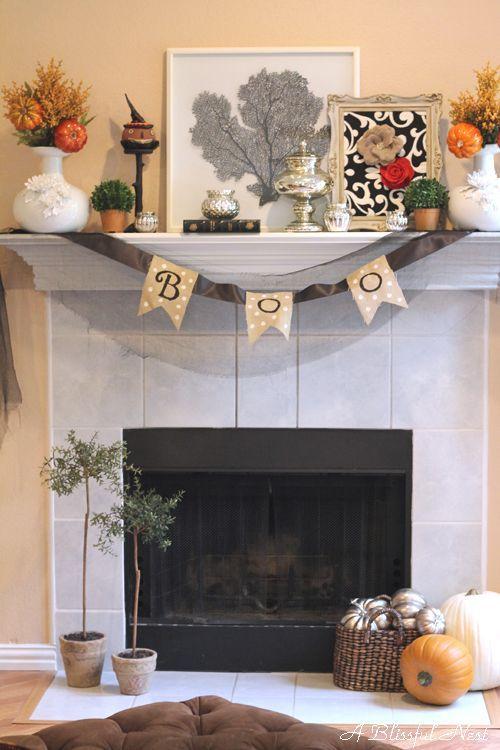 halloween decor ideas by a blissful nest