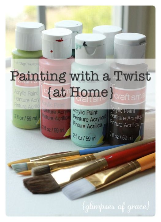 Painting With A Twist At Home