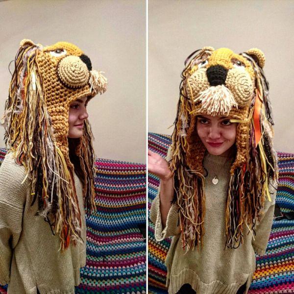 Luna lovegood Lion hat / luna lovegood costume / Lion Hat ...