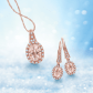 Morganite diamond and rose gold styles zalesjewelers pinterest