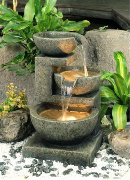 small water garden fountain ideas House , Easy DIY Project: Homemade Water Fountains for