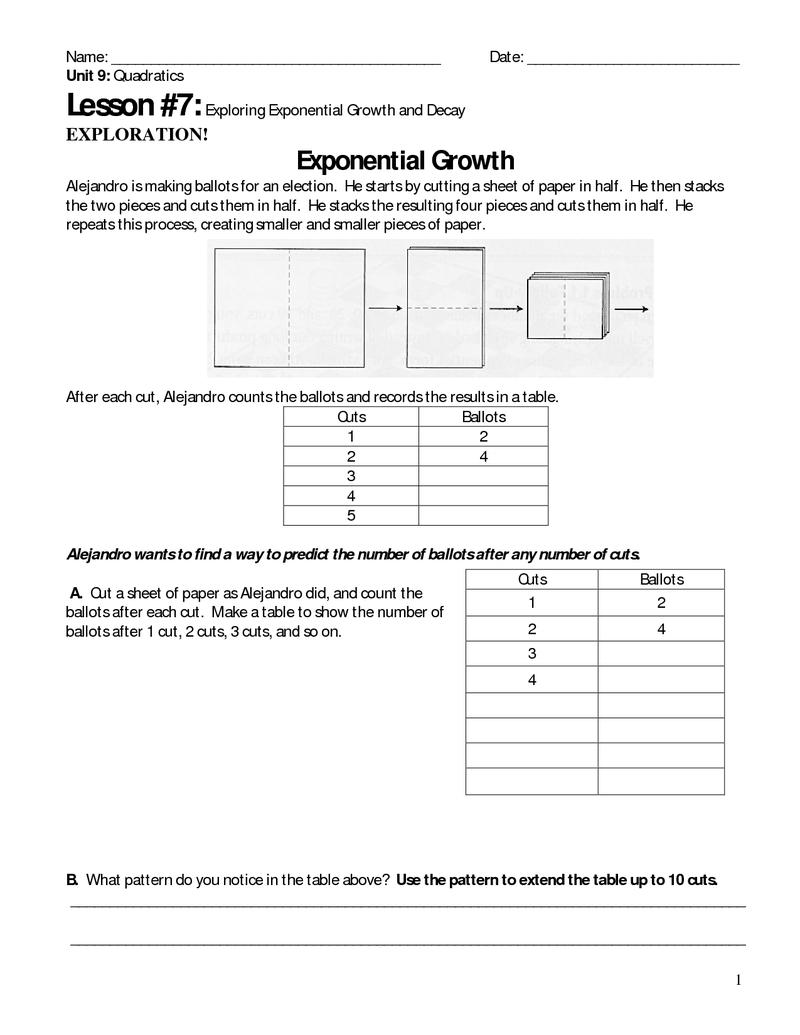 P Ge 1 Unit 9 Less 7 Exp Enti L Growth Nd Dec Y Expl Ti S
