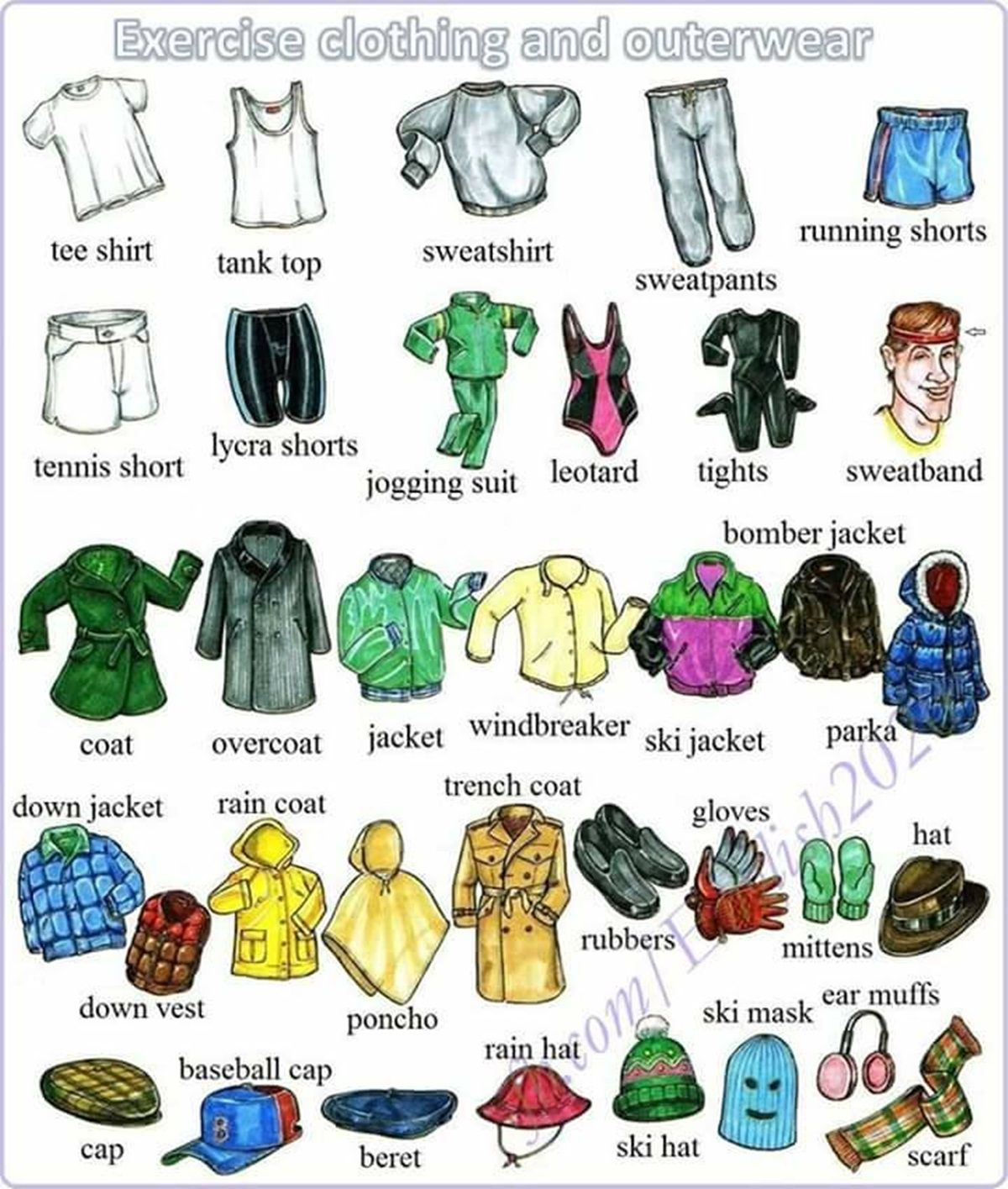 Clothes Amp Accessories Vocabulary