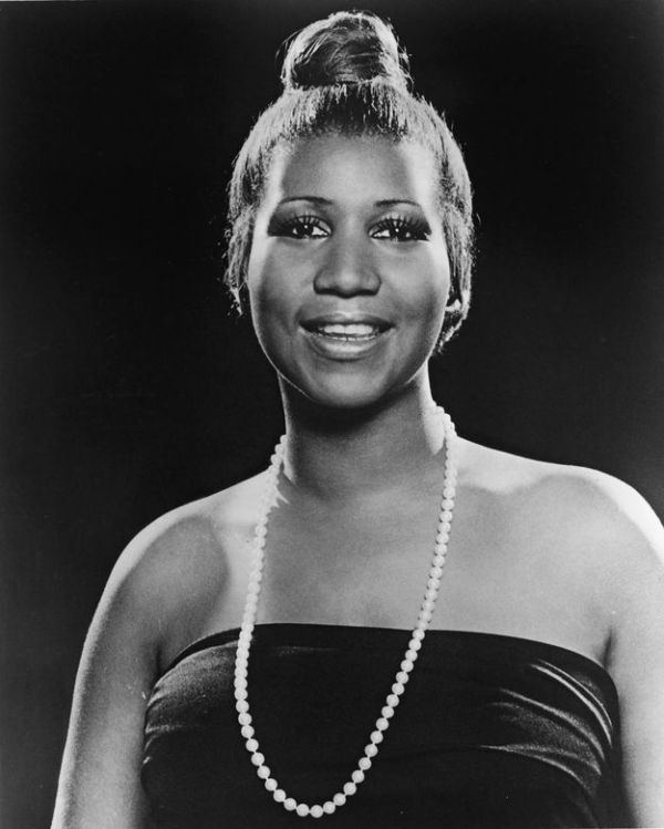 Okay, so you know Aretha Franklin and her iconic ...