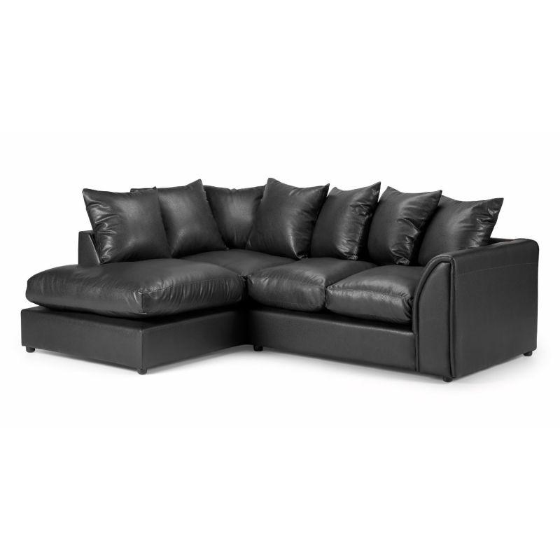 Newbury Leather Corner Sofa Next Day Delivery
