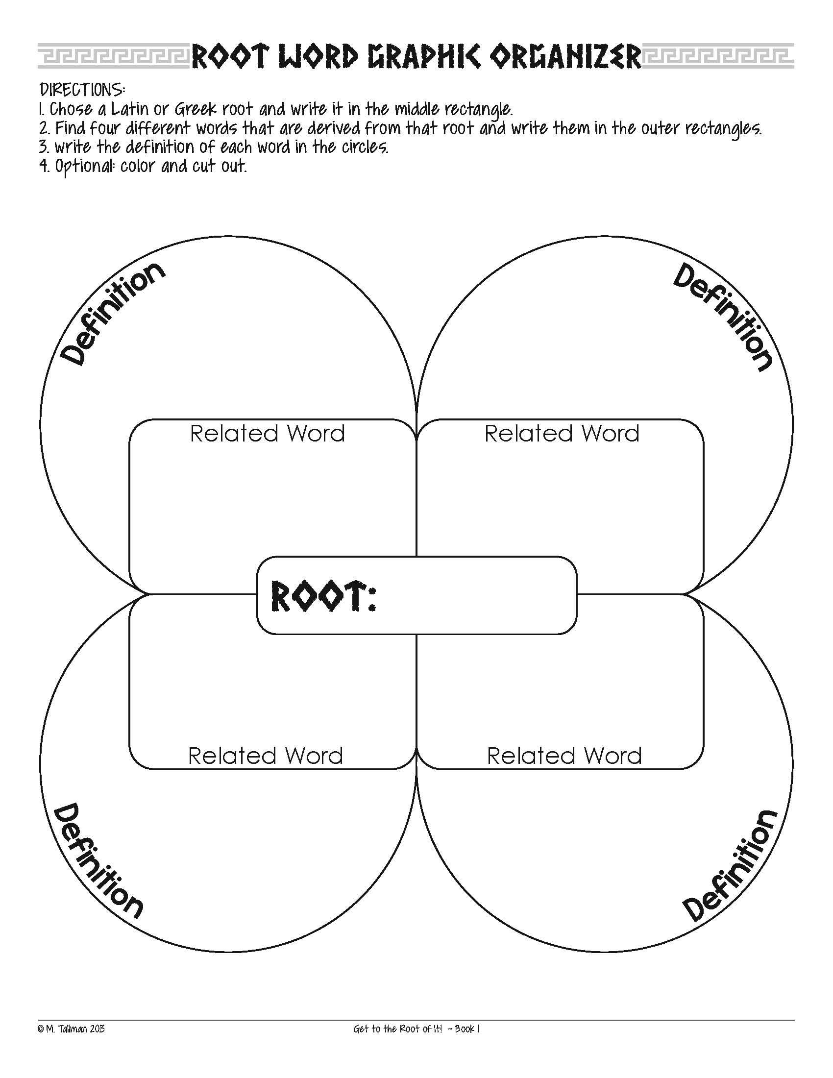 Free Excellent Vocabulary Activities That Compliment The Study Of Greek And Latin Etymology