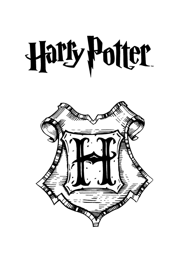 harry potter coloring pages online  harry potter