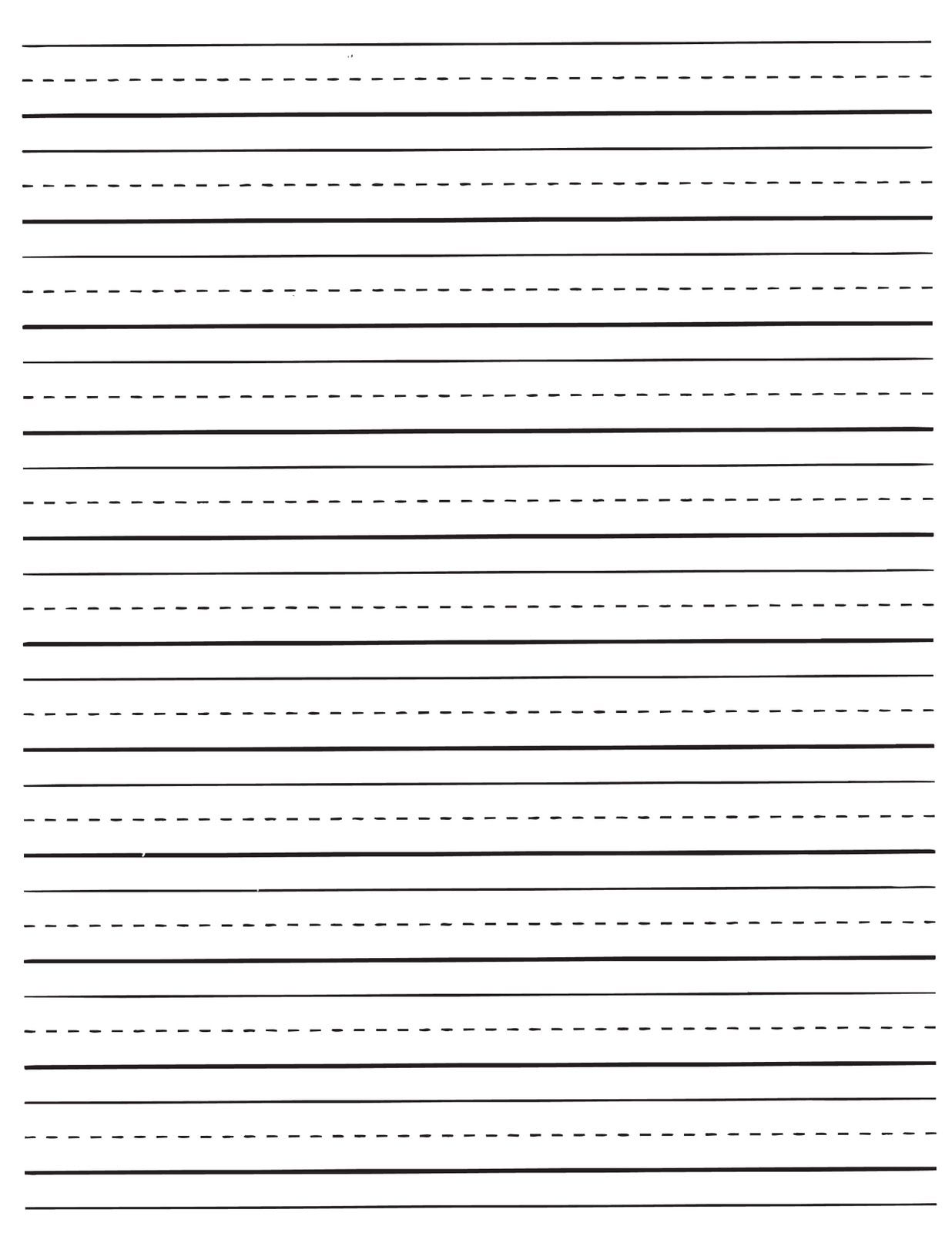 Lined Paper For Projector