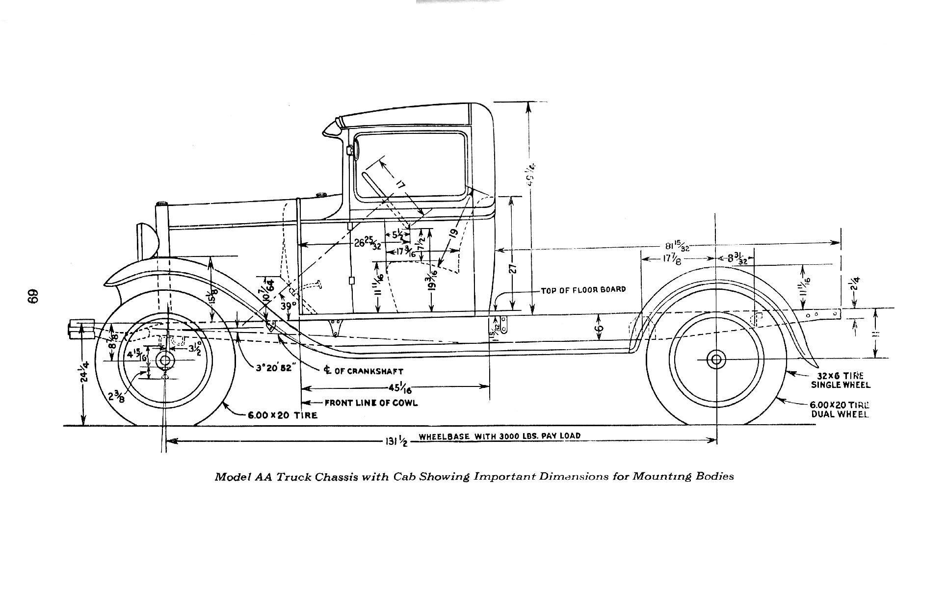 Ford A Pickup 31 B