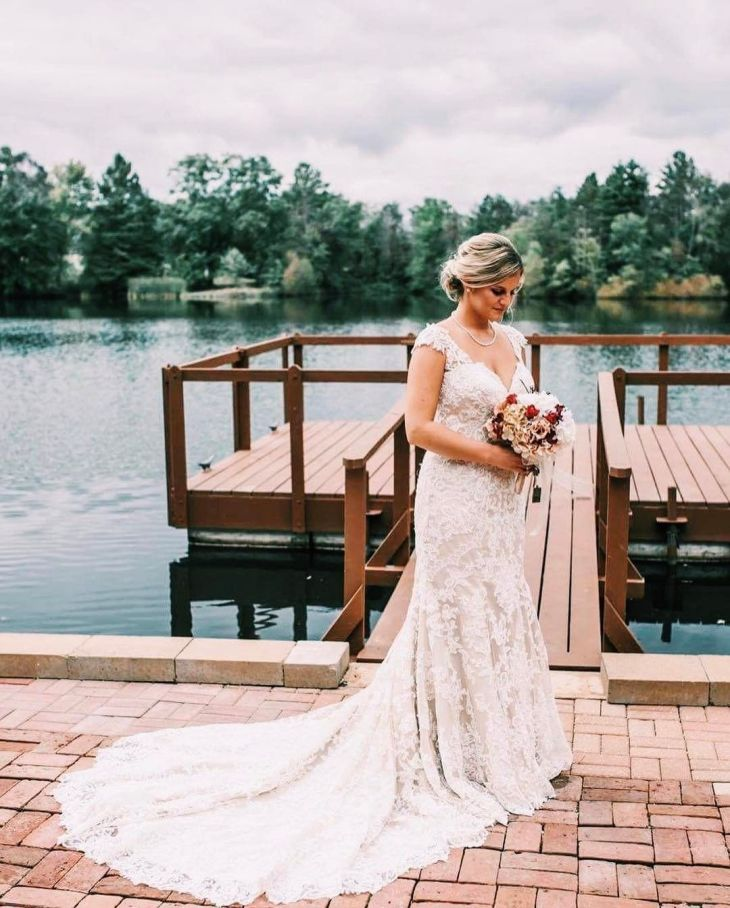 Elite Bride Courtney in Martina Liana  Photo by McDonald Video and