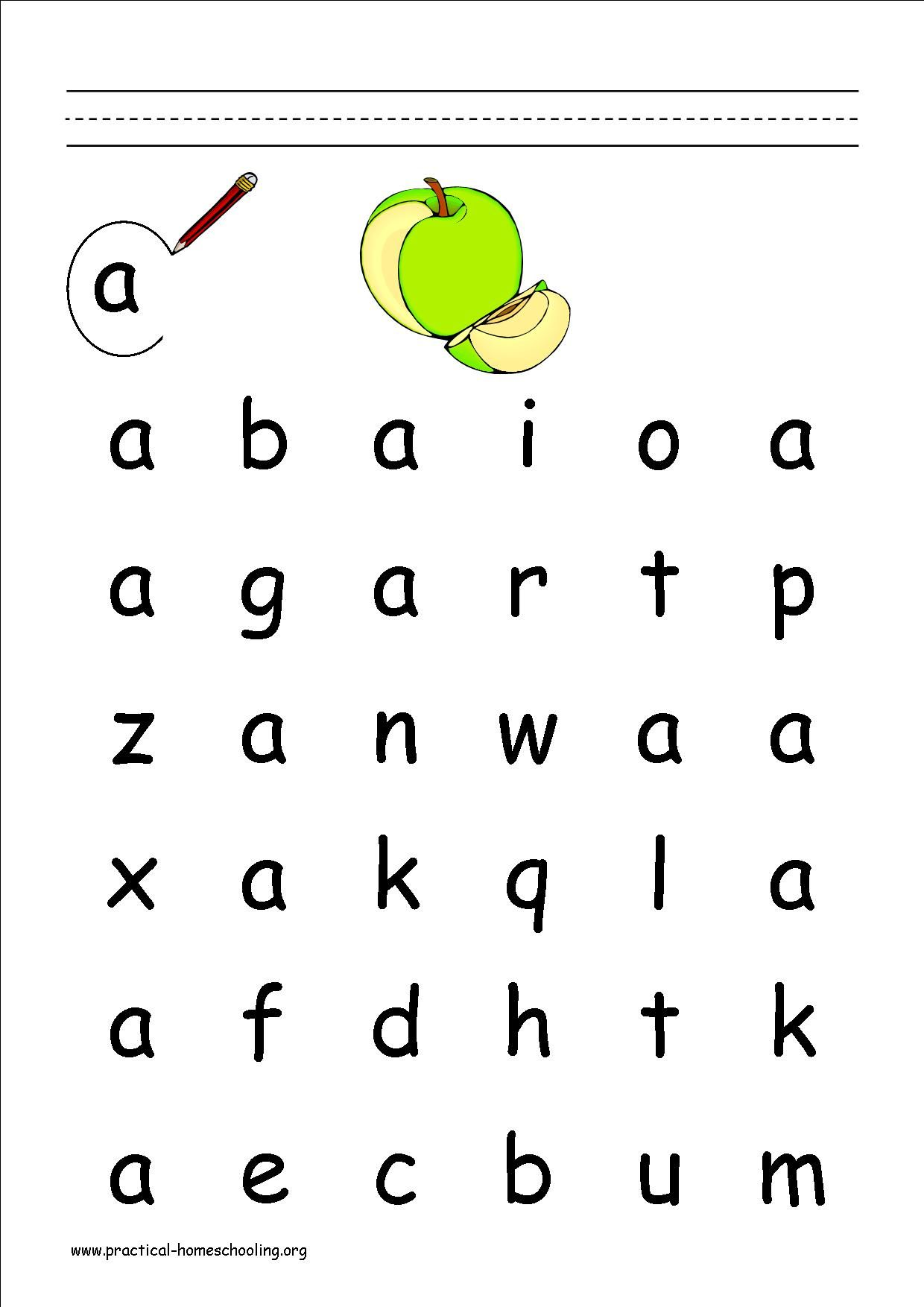 Circle The Letter