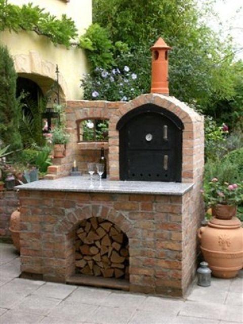 Ramster´s Holzbackofen - Holzbackofen Flammkuchenofen und ... on Elementar Outdoor Living id=19050