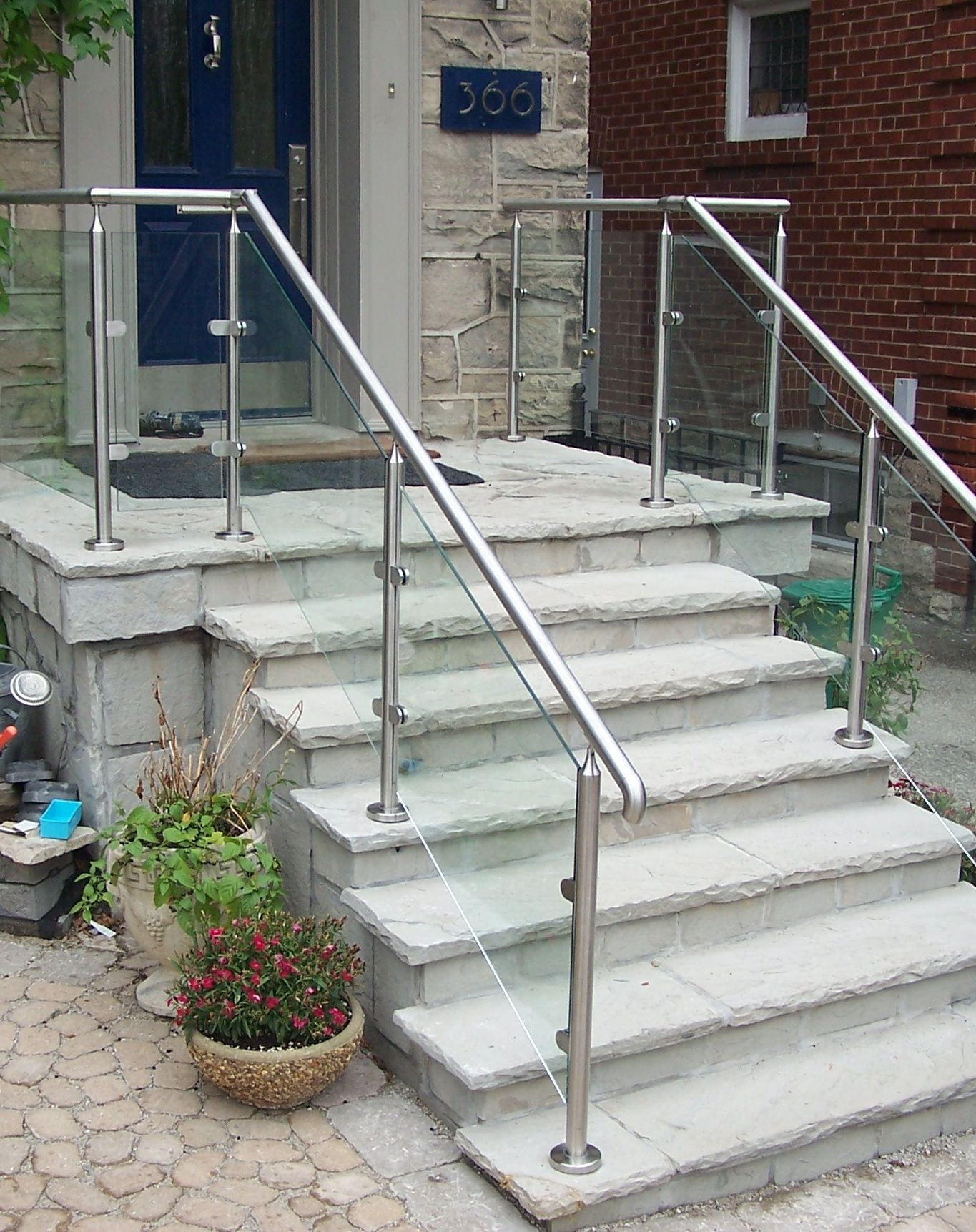 Remodel Outdoor Stair Railing Plans Better Than Where To | Aluminum Handrails For Steps