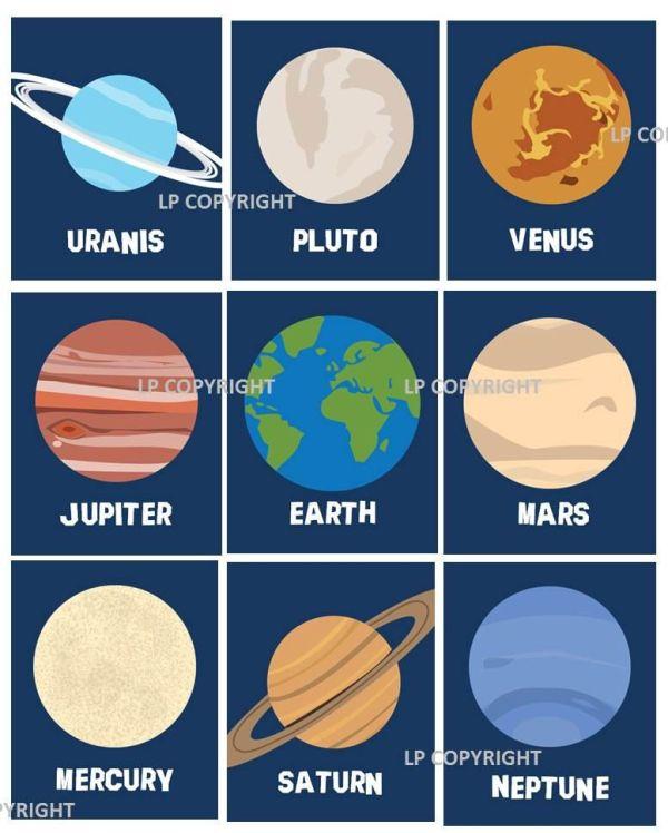 Solar System Planets Kid room decor ideas Pinterest
