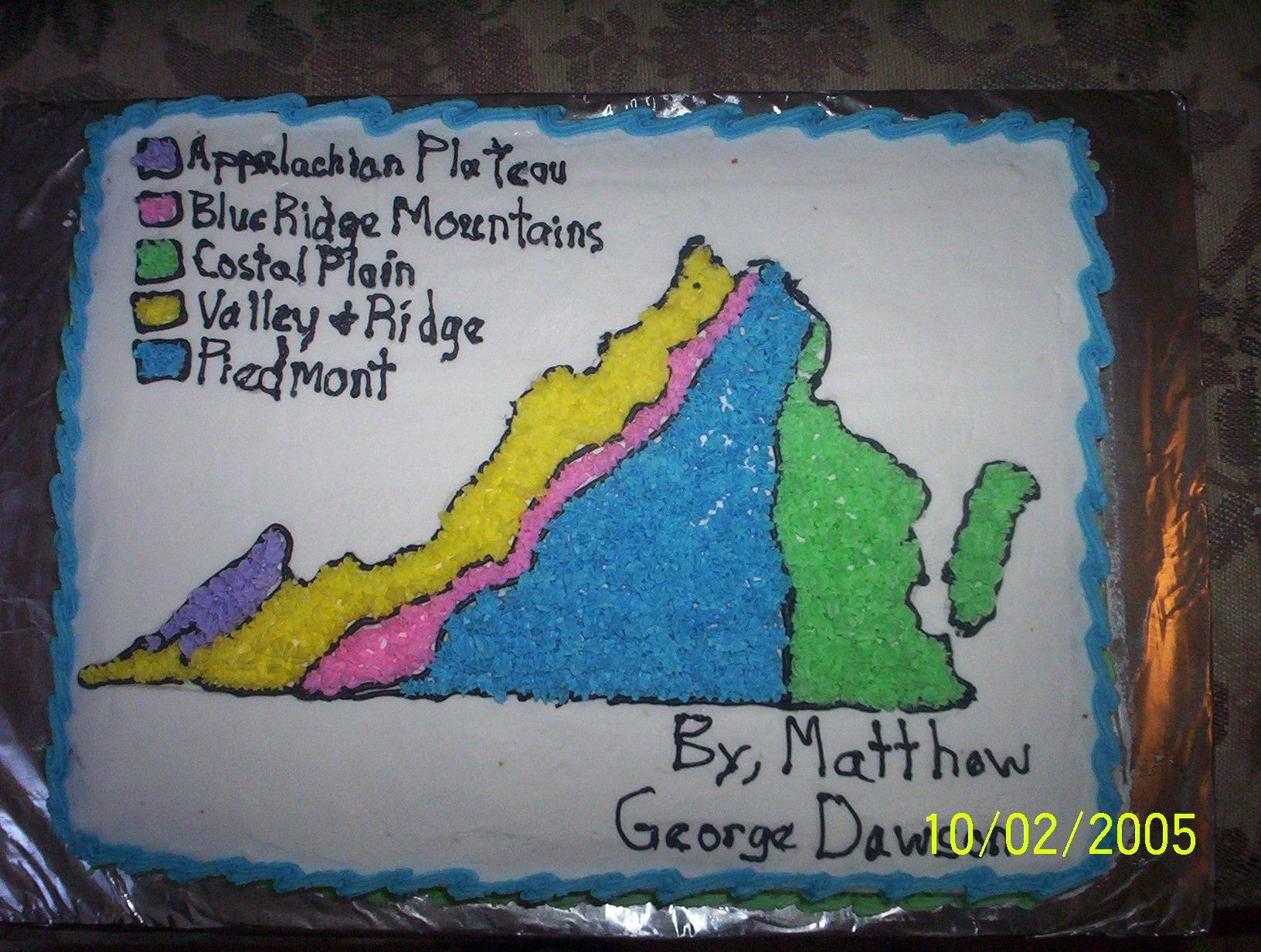Virginia Regions Map