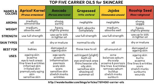 Carrier Oils Carrier Oils Oil And Essentials