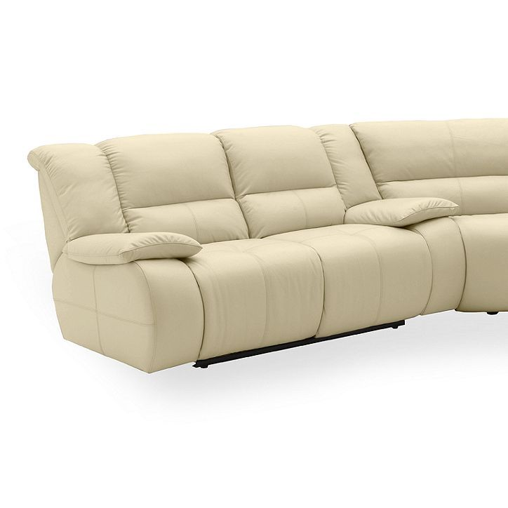 Franco Leather Reclining Sectional Sofa 3 Piece Power