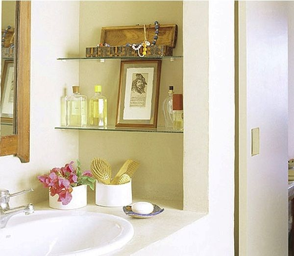 small bathroom makeover: spa inspired decor, easy diy bathroom
