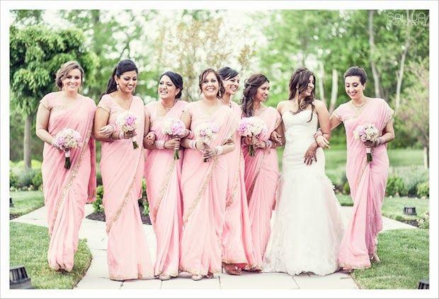 17 Pretty Perfect Bridesmaid Sarees