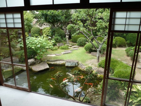 traditional japanese garden design Alternately, DON'T add steps at the french doors to go