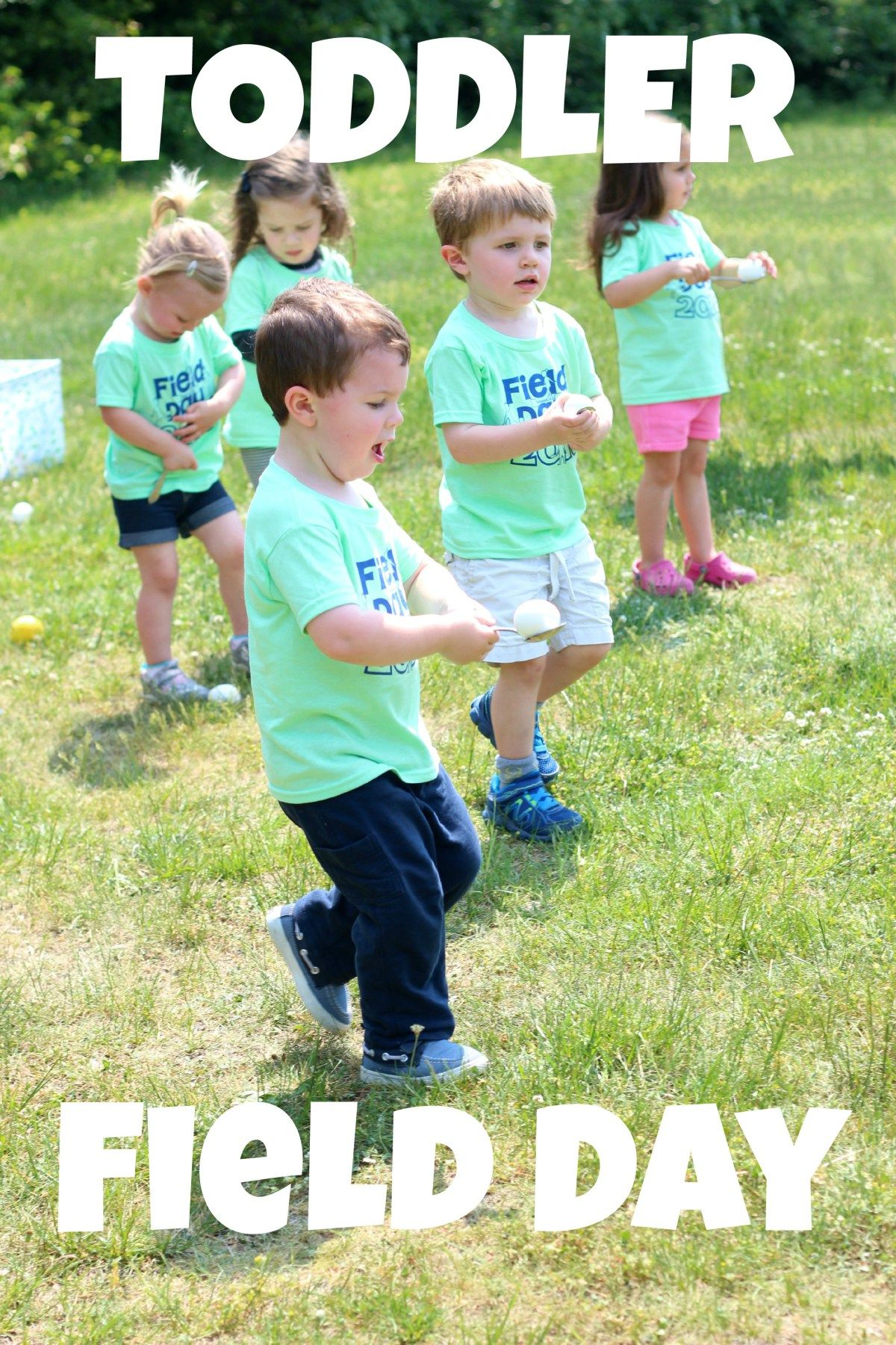 Toddler Field Day Outdoor Activity Day For Pre Preschoolers