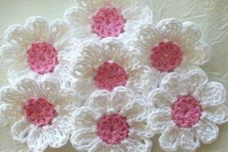 Crochet Daisy Flower Tutorial Best White Flowers White Flowers