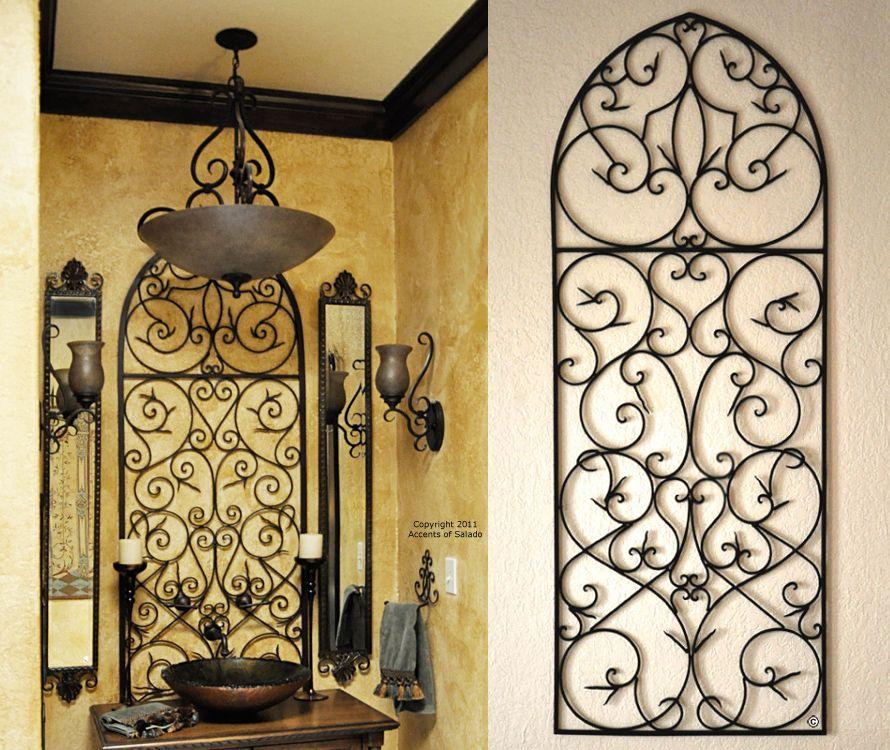 tuscan iron wall decor love the tuscan decor bathroom on wall art decor id=22995