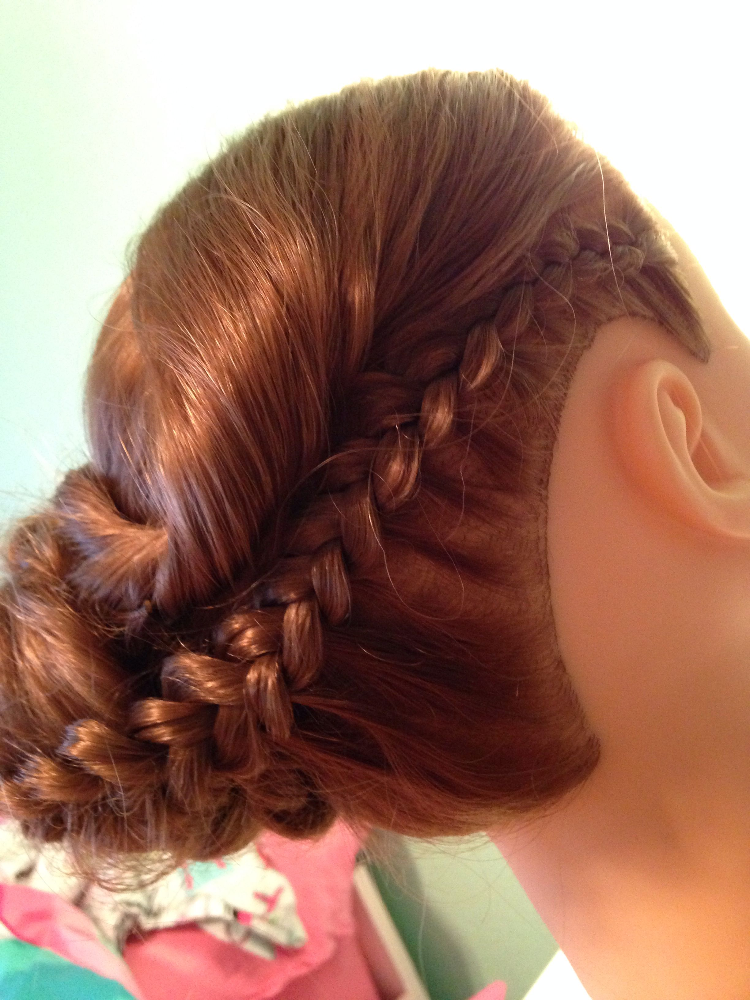Braid into side bun Hairstyles