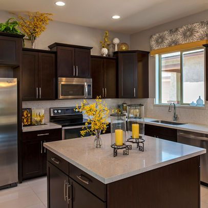 Yellow Accents Kitchen Kitchens