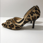 Price firm sole society leopard print duorsay pump bald spots