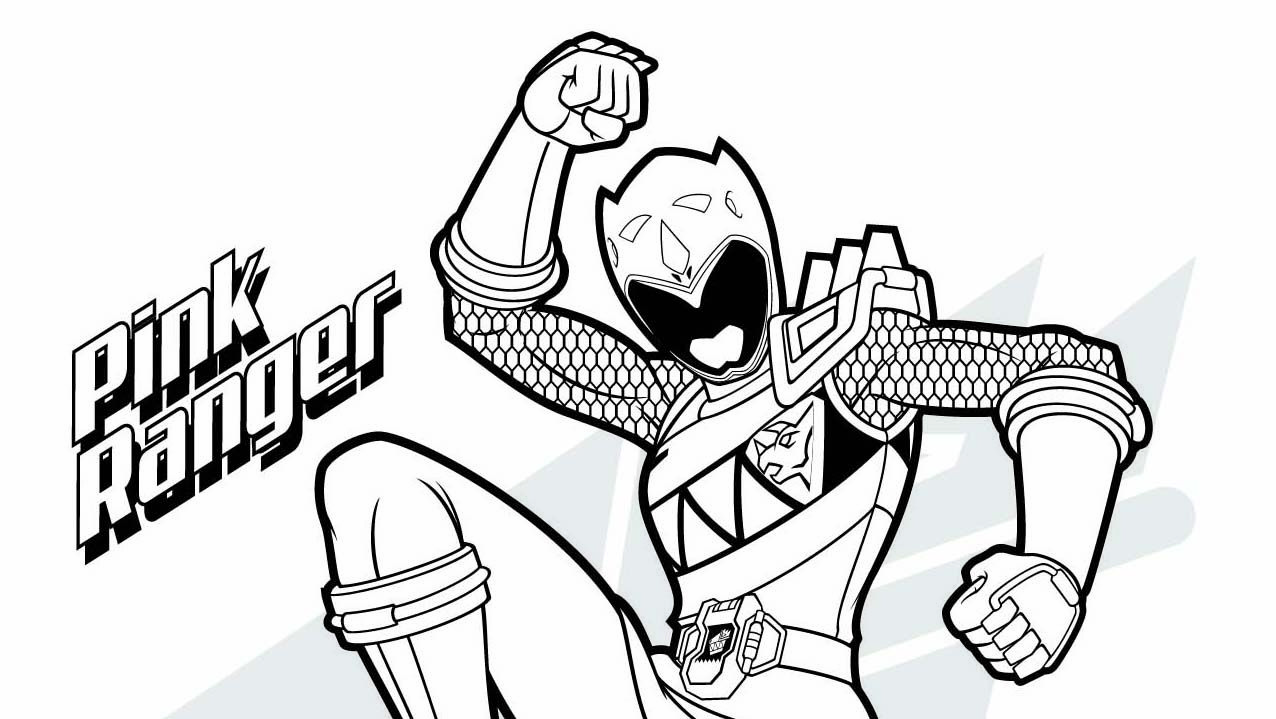 Power Rangers Dino Thunder Zord Coloring Pages Coloring Page