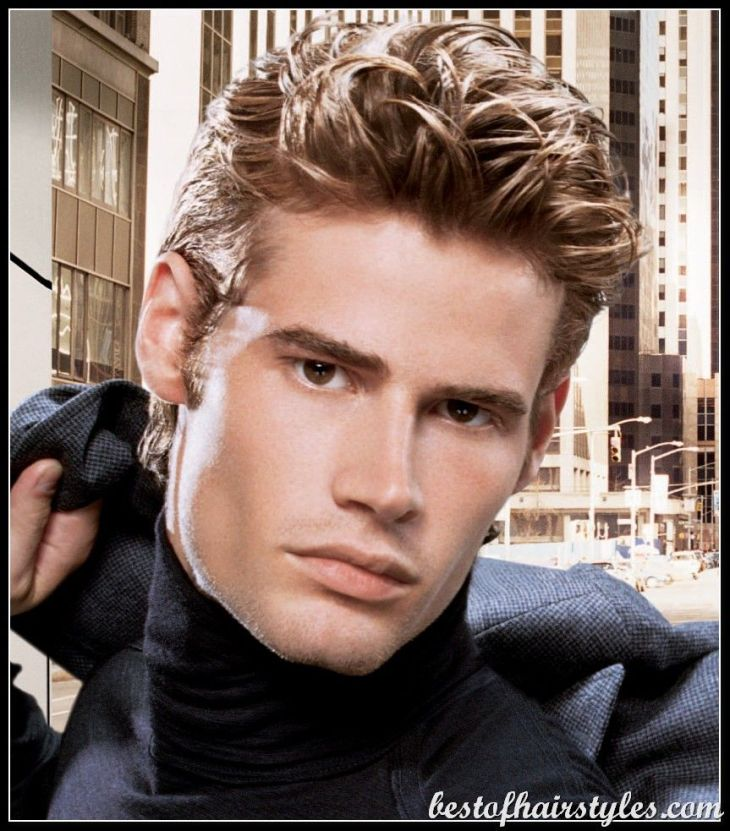 Hair for men  medium wavy hair  Things to Wear  Pinterest