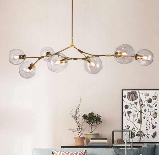Lindsey Adelman Globe Branching Bubble Chandelier 110v 220v Modern Light Lighting In Pendant Lights