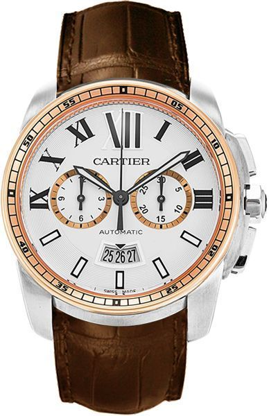 Cartier Calibre de Cartier Chronographe Automatic Mens Watch   chain     Cartier Calibre de Cartier Chronographe Automatic Mens Watch   chain watches  for men  ladies watch