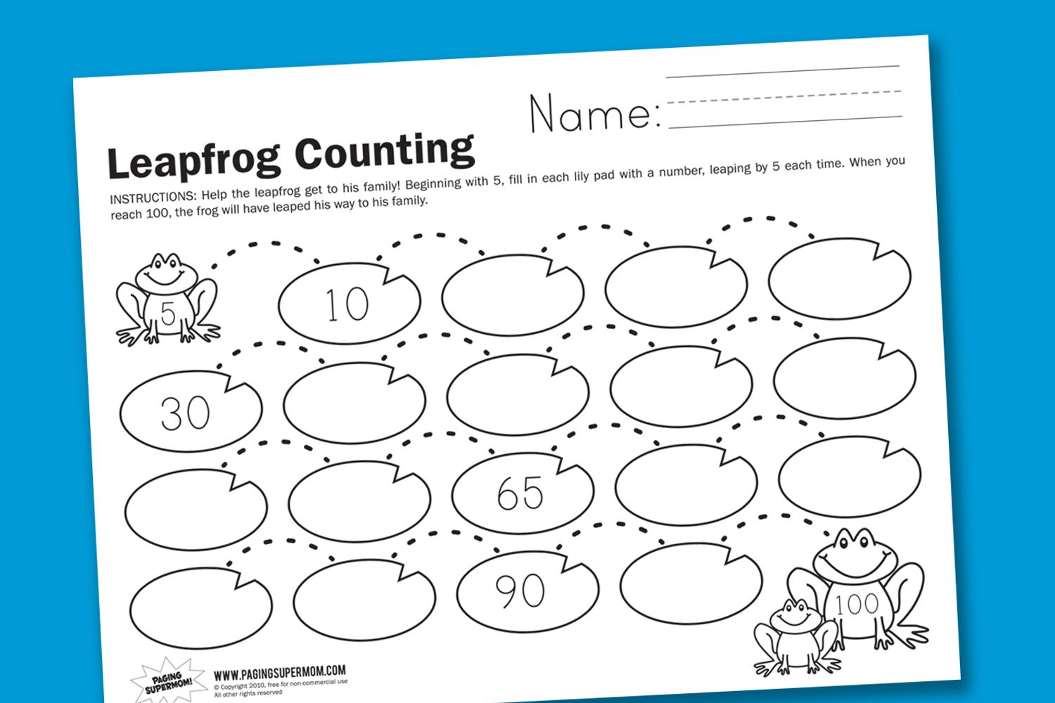 In Honor Of Leap Day We Ve Made A Leapfrog Counting