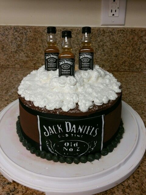 Jack Daniels Theme Cake Cakes Amp Pastries By Me
