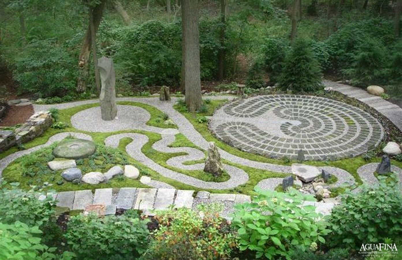 Meditation garden - this may be a bit too involved, but I ... on Meditation Patio Ideas  id=68544