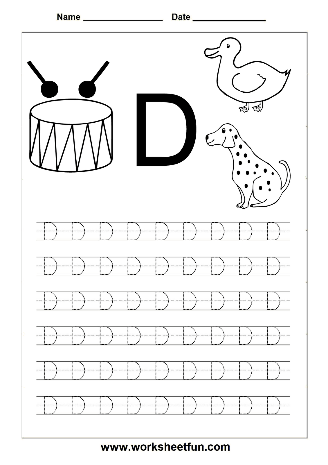 Letter D Worksheets Hd Wallpapers Download Free Letter D