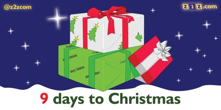 9 days to Christmas