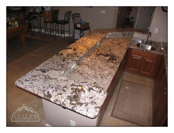 White Diamond Countertops Diamonds Granite Custom
