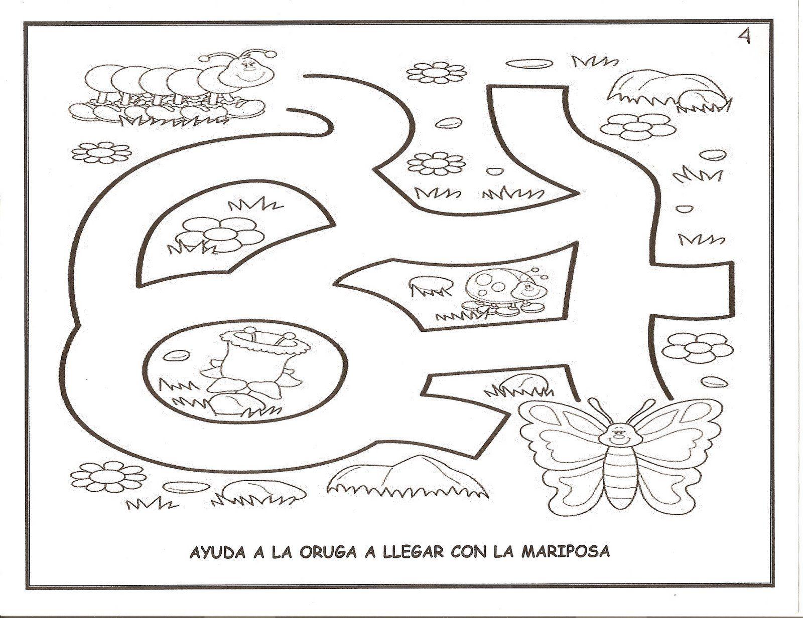 Fichas De Educacion Infantil