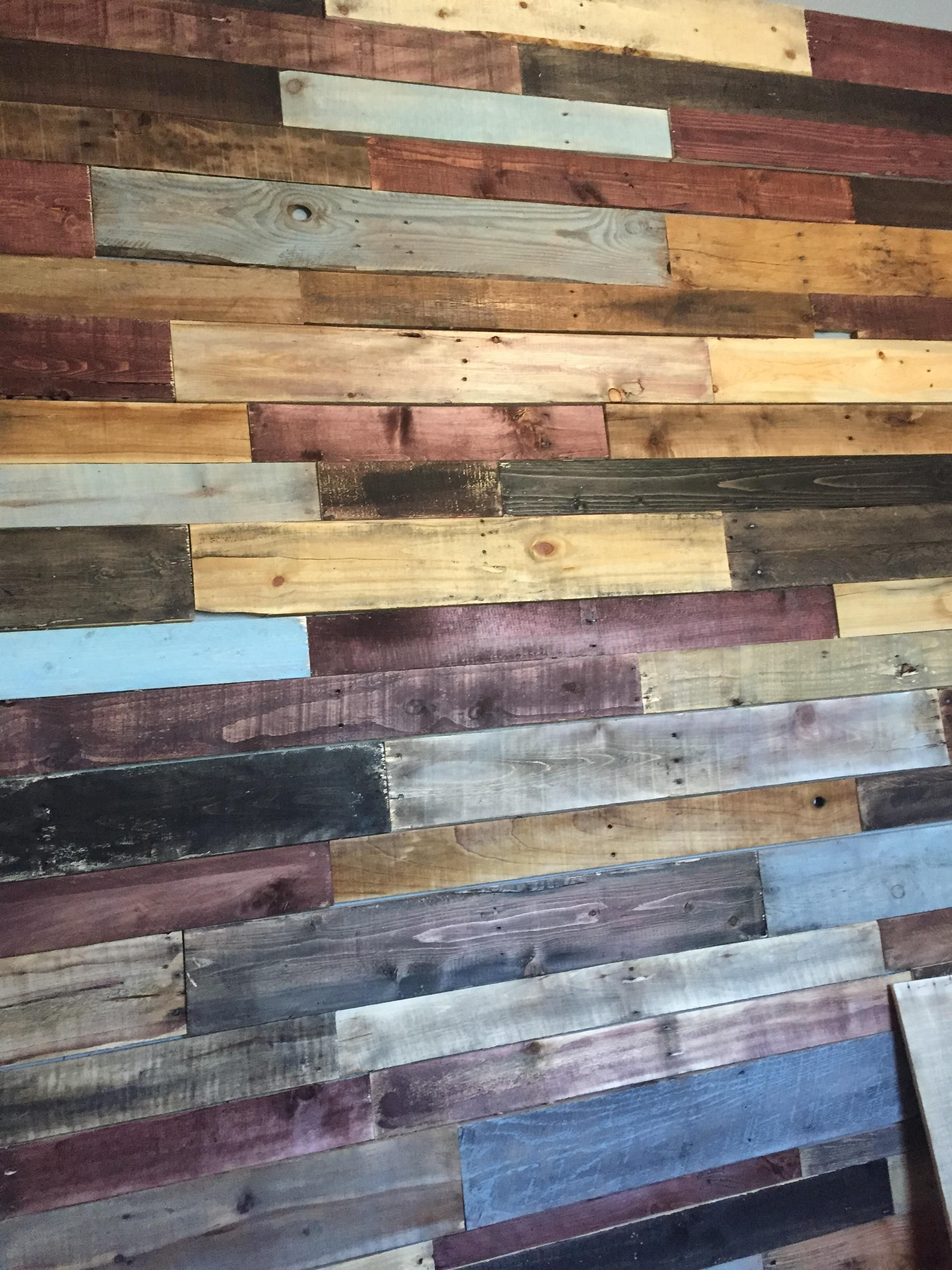 diy pallet wall planked walls pallets and walls on pallet wall id=67045