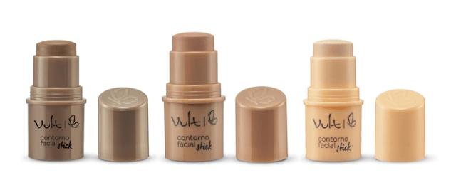 Lançamento: Coleção Sticks Vult Blush, Contorno e Iluminador