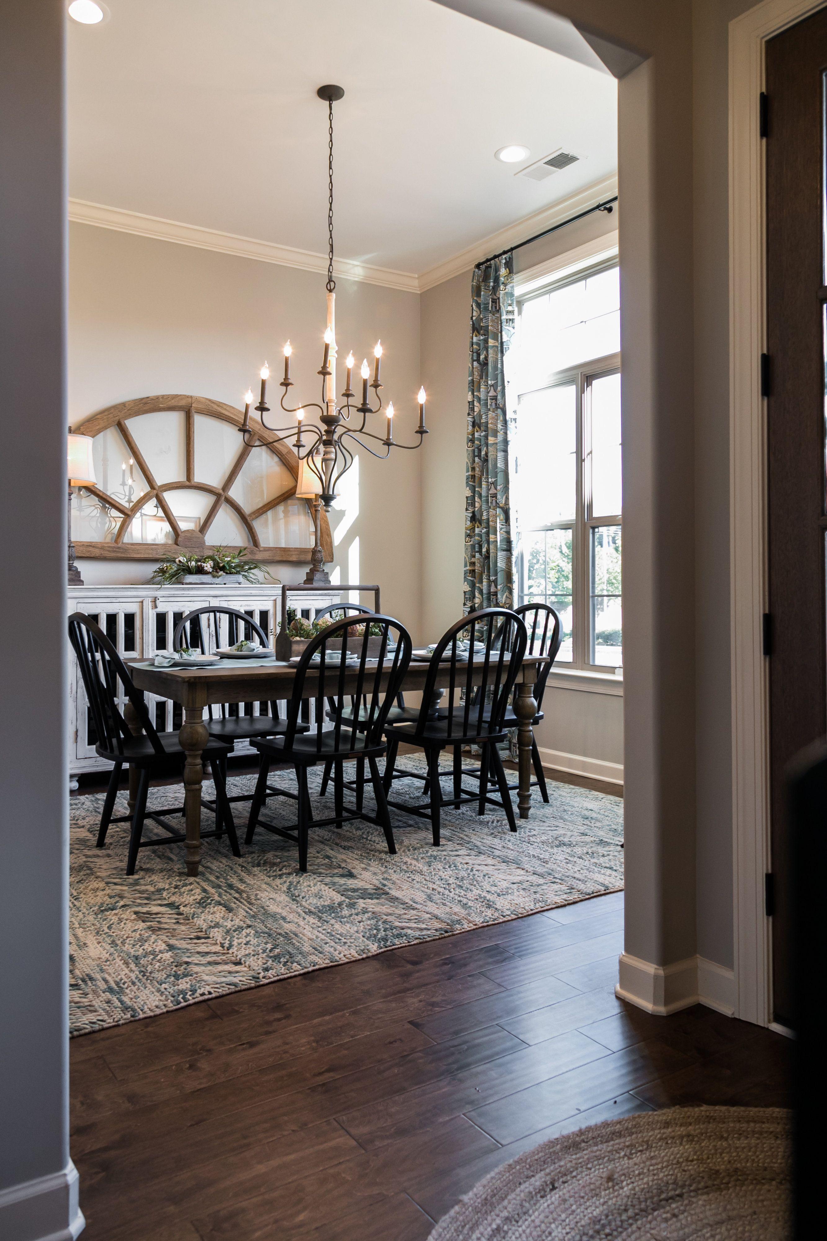 Regency Homebuilders Dining Room Farmhouse Style