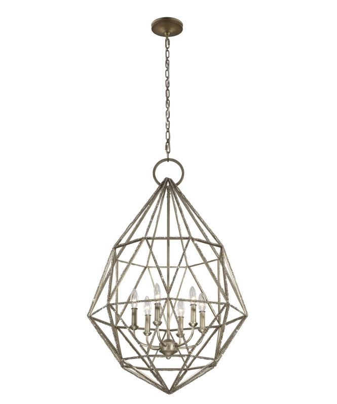Murray Feiss Marquise 25 Inch Wide 6 Light Chandelier
