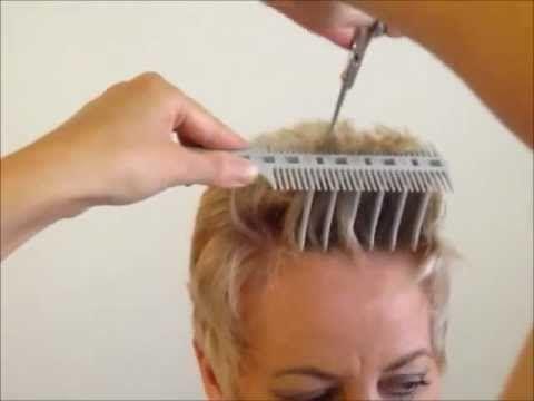 how to cut women s short hair layer haircut bpal scissor over b hair cutting tool video