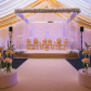 Wedding stage decoration ideas kerala  Pin by Grandiose Event on Grandiose Event Management  Pinterest