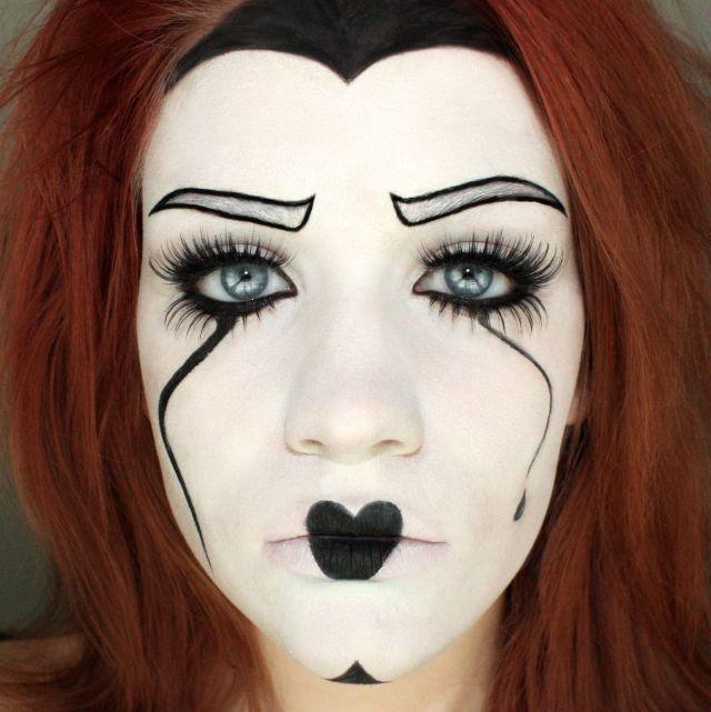 Afbeeldingsresultaat voor mime halloween