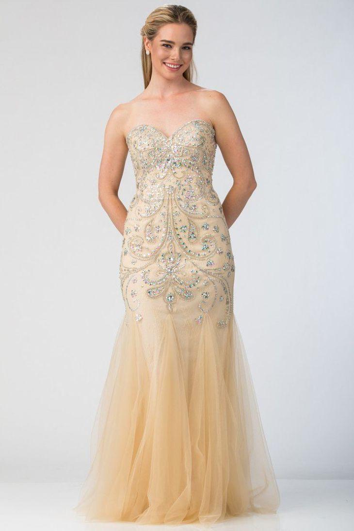 Sleeveless Beautiful Long Prom Dress SB Solid color sheath